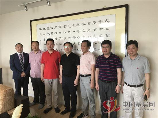 玉山县委副书记、县长徐树斌一行到北京林如高中医