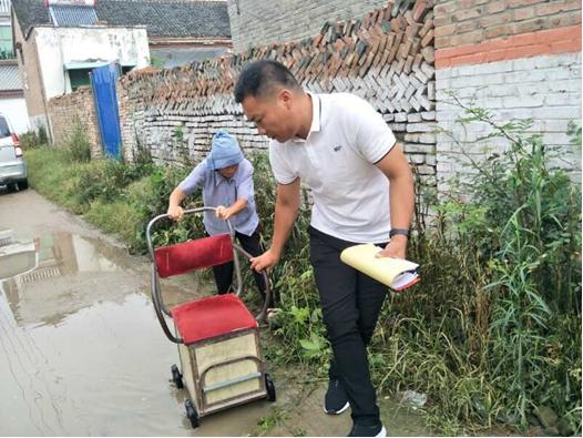 太康县驻村干部樊荣昌:群众的事就是我的事