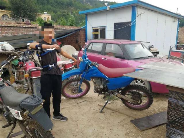 甘泉县公安局刑侦大队侦破系列盗窃摩托车案
