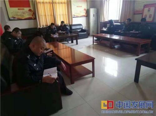 澄城巡特警大队 解读领会《条例》内涵 严明政治纪