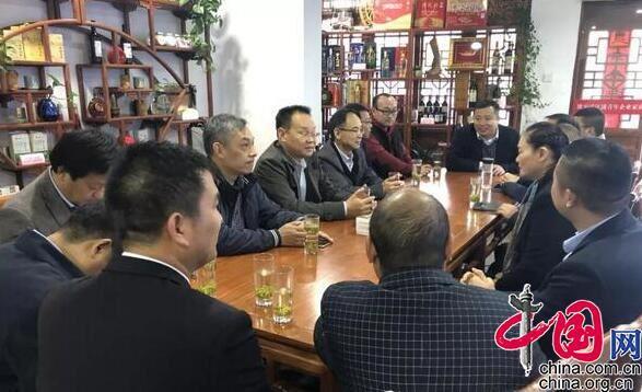 市科技企业家代表团访问淮安清江浦青年企业家商会