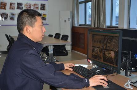 视频监控背后的平安守护者 河南省三门峡市湖滨公