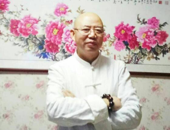 国画牡丹名家谷永江