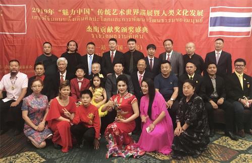 社会活动家刘瀚锴先生率团赴泰国进行艺术交流-中国传真
