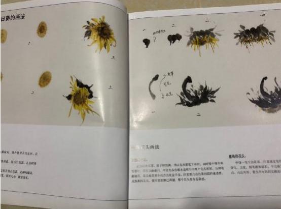《写意画范葵花》王丽荣编著荣宝斋出版社出版-中国传真
