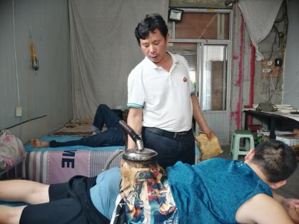 调理癌症的土郎中段根雪-中国传真