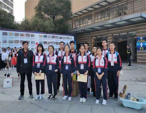 福建泉州:季延初级中学参加第十六届泉州市青少年科技创新大赛