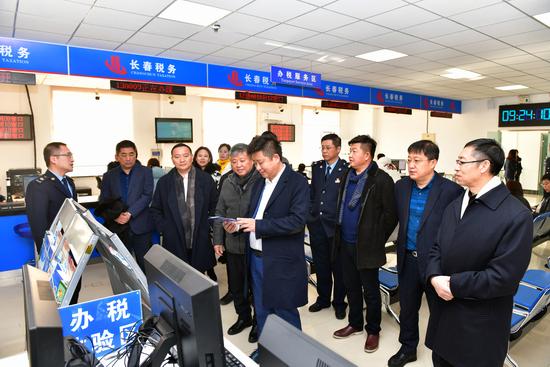 吉林省民营企业联合会赴长春净月高新技术产业开发区税务局走访交流