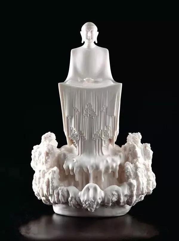 """当代陶瓷艺术家、李璋高""""中国白""""艺术作品"""