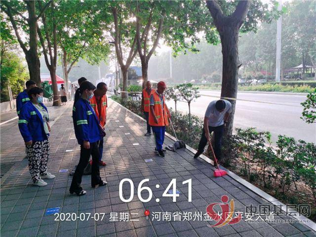 郑州市兴东市政抓保障,显担当,助力学